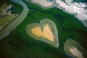 Le Cœur de Voh © Yann Arthus-Bertrand